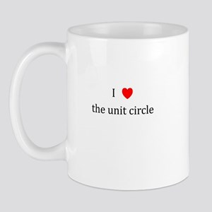 I Heart the unit circle Mug