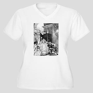 Stolen Kiss Women's Plus Size V-Neck T-Shirt