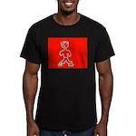 Inline Skater Skating Men's Fitted T-Shirt (dark)