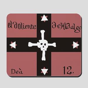 Doliente De Hidalgo Flag Mousepad