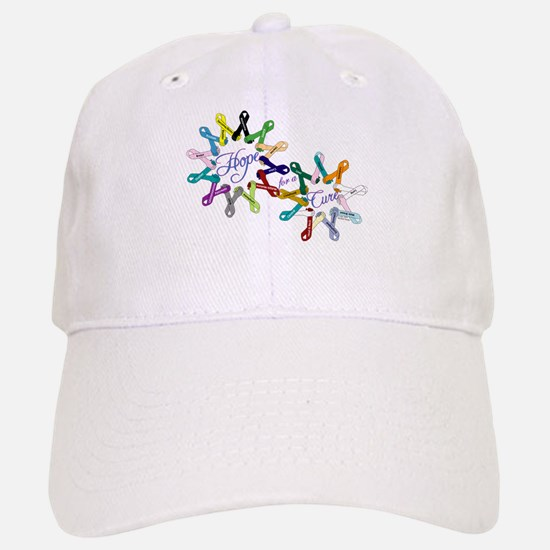 Hope For A Cure Baseball Baseball Cap