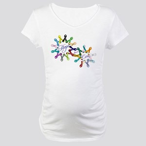 Hope For A Cure Maternity T-Shirt