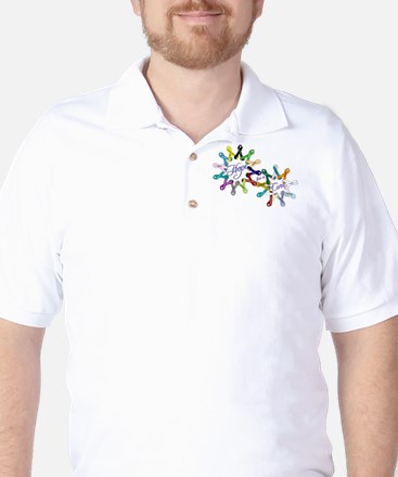 Hope For A Cure Golf Shirt