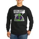 ALIEN PARTY Long Sleeve Dark T-Shirt
