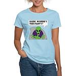 ALIEN PARTY Women's T-Shirt (light)
