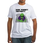 ALIEN PARTY Fitted T-Shirt