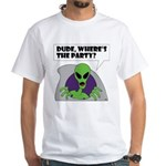 ALIEN PARTY T-Shirt (white)