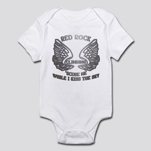 Red Rock Climbing Chrome Wings Infant Bodysuit