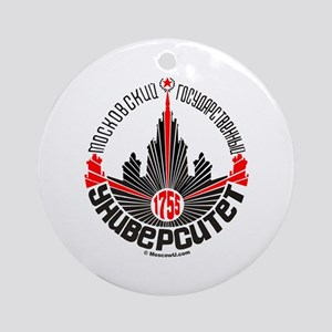 Moscow U Ornament (Round)