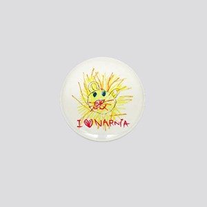 I Love Narnia Mini Button