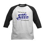 Big Words Kids Baseball Jersey