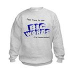 Big Words Kids Sweatshirt
