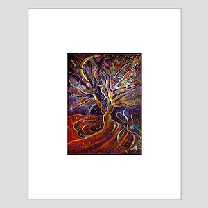Aura Energy Tree Small Poster