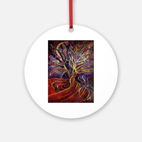 Aura Energy Tree Ornament (Round)
