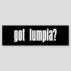 Got Lumpia? Gift Bumper Sticker
