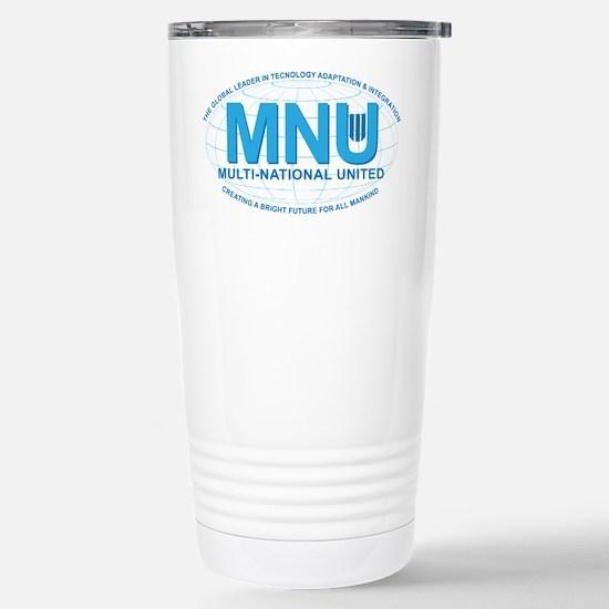 Multi National United Stainless Steel Travel Mug
