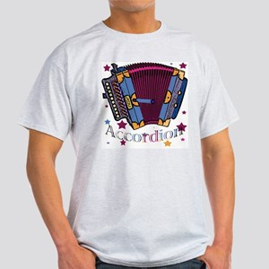 Accordion Ash Grey T-Shirt