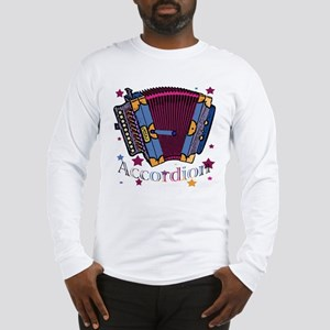 Accordion Long Sleeve T-Shirt