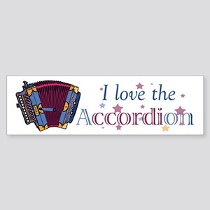 Accordion Bumper Sticker