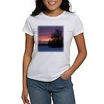 Winter Sunset 0020 Women's T-Shirt