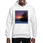 Winter Sunset 0020 Hooded Sweatshirt