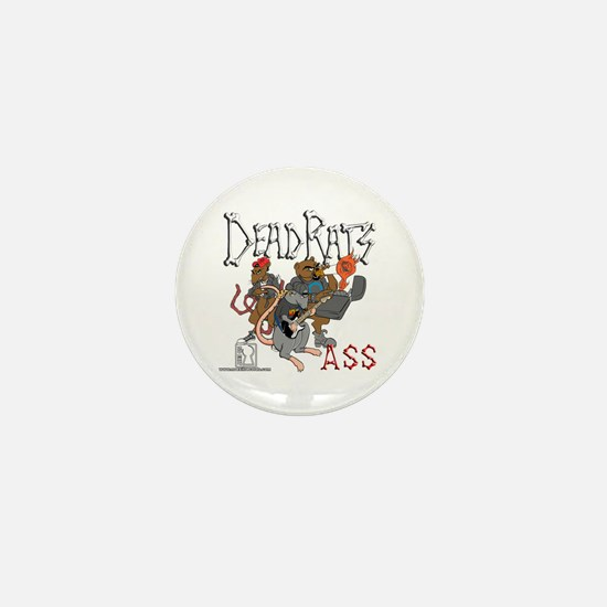 Dead Rats ASS Mini Button