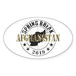 Spring Break Afghanistan 2019 Sticker