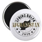 Spring Break Afghanistan 2019 Magnets