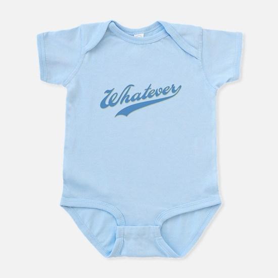 Whatever (blue) Infant Bodysuit