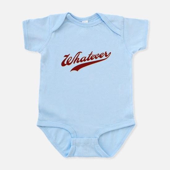 Whatever (red) Infant Bodysuit