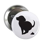 """Doggy Accident 2.25"""" Button (100 pack)"""