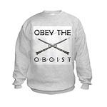 Obey the Oboist Kids Sweatshirt