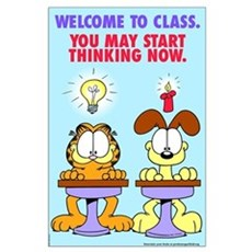 Welcome to Class Large Poster