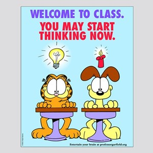 Welcome to Class Small Poster