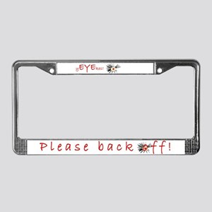 yEYEkes License Plate Frame