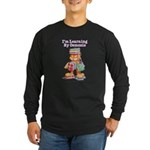 Garfield Learning by Osmosis Long Sleeve Dark T-Sh