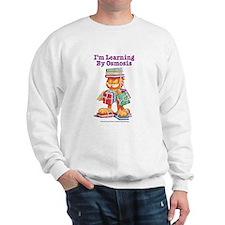 Garfield Learning by Osmosis Sweatshirt