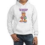 Garfield Learning by Osmosis Hooded Sweatshirt