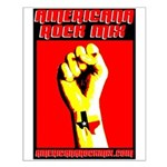 Texas Rock Fist - Small Poster