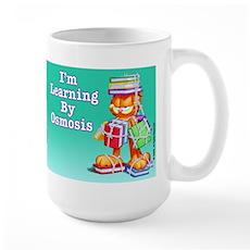 Garfield Learning by Osmosis Large Mug