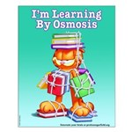 Garfield Learning by Osmosis Small Poster