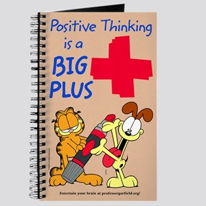 Positive Thinking Garfield Journal