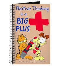 Positive Thinking Garfield Journal