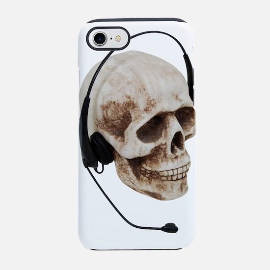 HeadphoneSkull042109.png iPhone 7 Tough Case