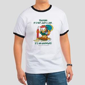 It's an Adventure Garfield Ringer T