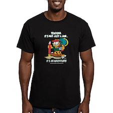 It's an Adventure Garfield Men's Fitted T-Shirt (d