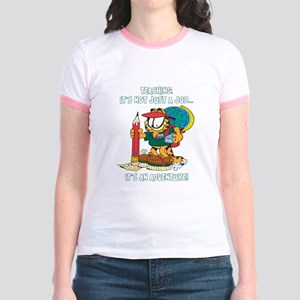 It's an Adventure Garfield Jr. Ringer T-Shirt