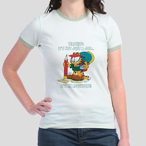 It's an Adventure Garfield Jr. Ringer T-Shirt