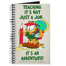 It's an Adventure Garfield Journal