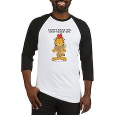Teach 'em Garfield Baseball Jersey